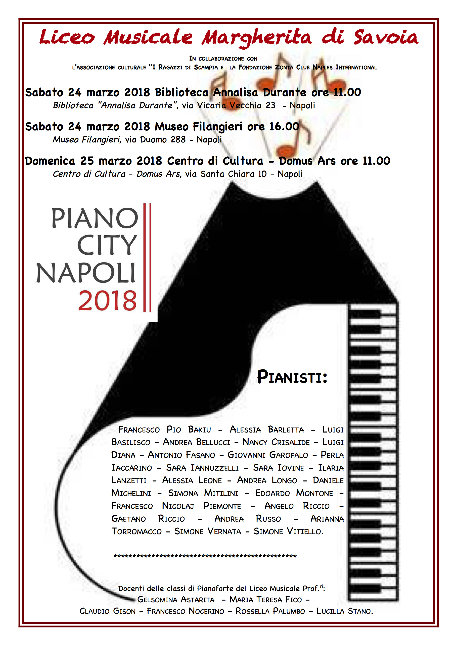 EVENTO PIANO CITY News