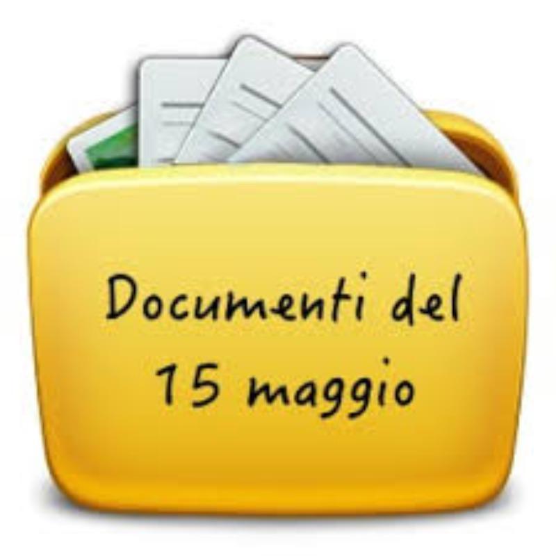 DOCUMENTI DEL 15 MAGGIO