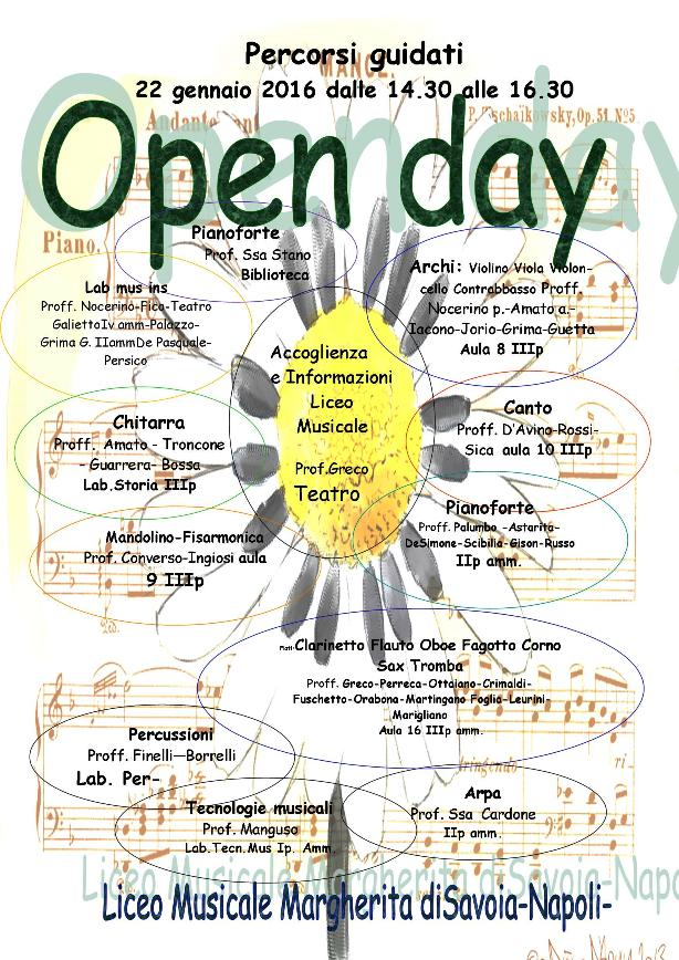 open day musicale